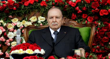 Abdelaziz Bouteflika, à Cherchell, juin 2012 / REUTERS