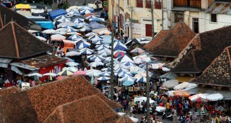 Un marché à Antananarivo, Madagascar / Reuters