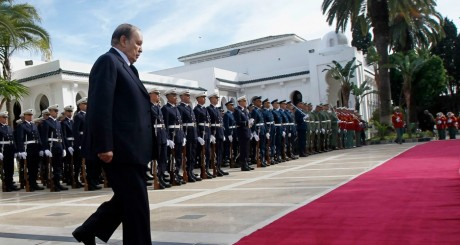 Abdelaziz Bouteflika, Alger, janvier 2013 / REUTERS