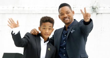 Will Smith et son fils Jaden, 27 mai 2013 / REUTERS
