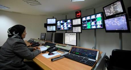 Ordinateurs en réseau, Tunisie / REUTERS