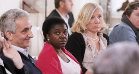 Cécile Kyenge Kashetu, Sienne, mai 2013 / AFP