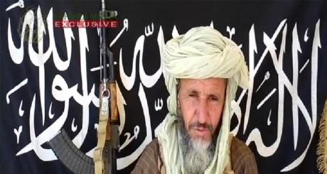 L'un des chefs d'Aqmi, Abou Zeid . Sahara Media / AFP