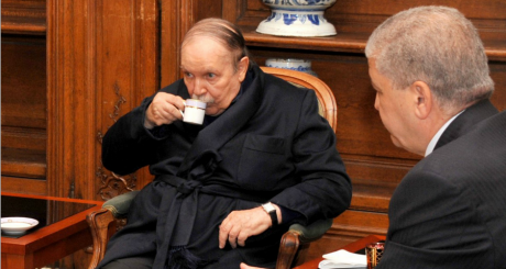 Le président algérien Abdelaziz Bouteflika, Invalides, le 11 juin 2013. APS/AFP