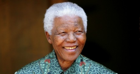 Nelson Mandela, Johannesbourg, septembre 2005 / Reuters