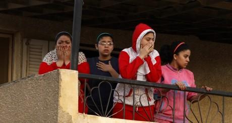 Scènes de violence au Caire, 22 mars 2013. REUTERS/Amr Abdallah Dalsh