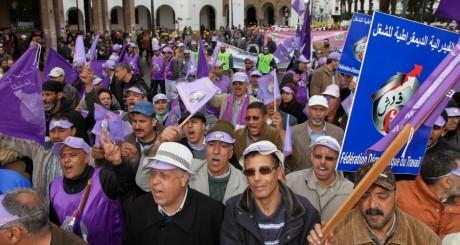 Manifestation à Rabat, le 31 mars 2013. REUTERS/Stringer