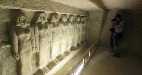 Tombe de  Meres Ankh, près des pyramides de Giza, le 11 octobre 2012. REUTERS/ Mohamed Abd El Ghany