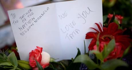 Mot en hommage à Mandela, Pretoria, 26 juin 2013 / Reuters