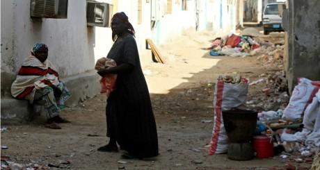 Femmes immigrées dans un bidonville de Jeddah, 2013 / REUTERS