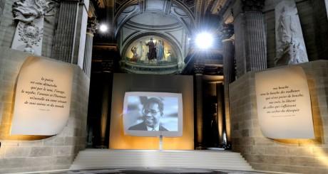Hommage national à Césaire, avril 2011 / Reuters