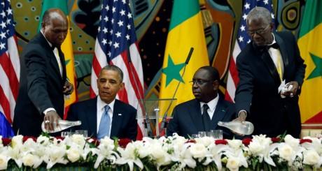 Barack Obama et Macky Sall, Dakar, 27 juin 2013. REUTERS/Jason Reed
