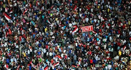 Rassemblement populaire, place Tahrir, Le Caire, 30 jin 2013 / Reuters