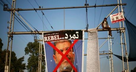 Effigie anti-Morsi, Le Caire, 30 juin 2013 / Reuters