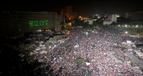 Manifestations anti-Morsi, place Tahrir, Le caire, 2 juillet 2013 / Reuters