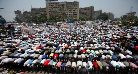 Partisans de Mohamed Morsi, Le Caire, 3 juillet 2013 / Reuters