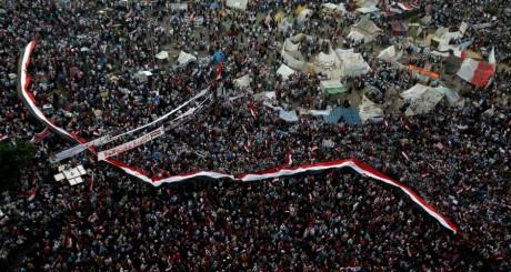 Rassemblement place Tahrir, Le Caire, 7 juillet 2013 / Reuters
