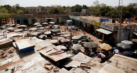Marché à Bamako, février 2013 / REUTERS