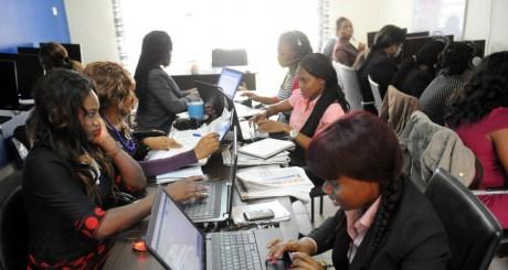 Agence pour l'emploi, Lagos / AFP