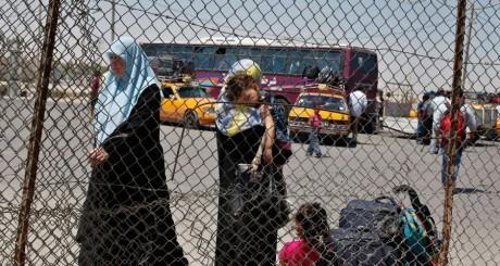 Le checkpoint de Rafah, entre l'Egypte et Gaza / Reuters