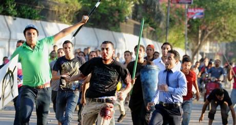 Partisans du président déchu Mohamed Morsi, Le Caire, 22 juillet 2013 / AFP