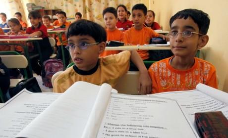 Ecole à Giza, le 28 septembre 2010. REUTERS/Mohamed Abd El-Ghany