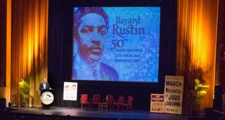 Hommage à Bayard Rustin et au cinquantenaire de la Marche des libertés, Washington, 13 août 2013 / Flickr CC
