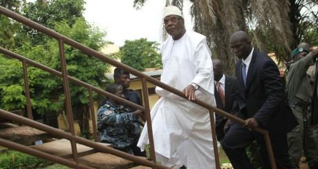 IBK, Bamako, août 2013 / AFP