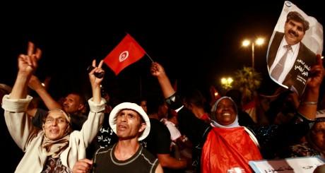 Manifestation de commémoration pour Mohamed Brami, 7 septembre 2013, Tunis / REUTERS