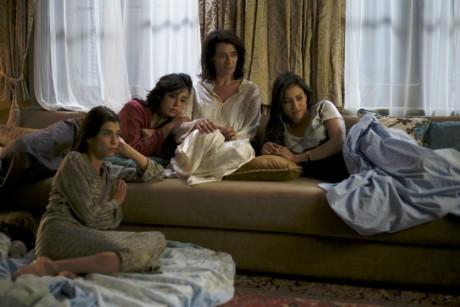 Hiam Abbas, Lubna Azabal, Nadine Labaki et Morjana Alaoui dans Rock the Casbah.