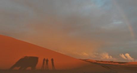 Le désert d'el Ayoun, Maroc / Reuters