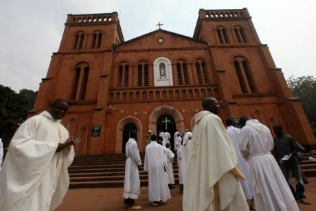 Cathédrale de Bangui, le 6 janvier 2013.  REUTERS/Luc Gnago