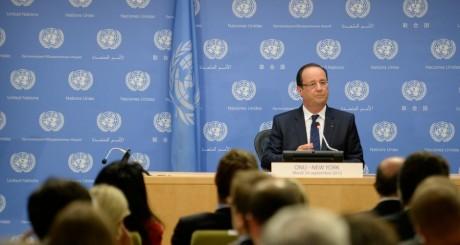 François Hollande , New York, 24 septembre 2013 / AFP