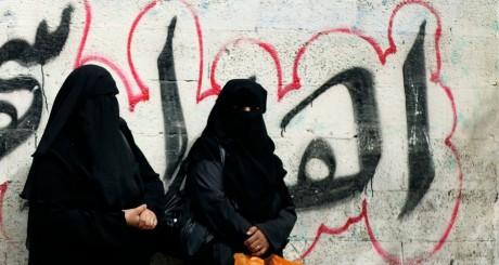 Femmes en niqab / Reuters