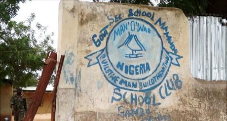Le Mamudo College, théâtre d'une attaque de Boko Haram en juillet 2013 / AFP