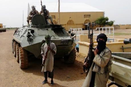 Membres d'Al-Qaida à Gao au Mali, REUTERS/Stringer