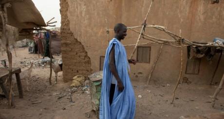 Un paysan mauritanien de Bassikounou, mai 2012 / Reuters