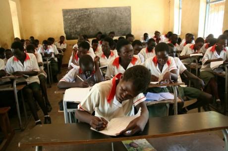 Des élèves de l'école St Joseph au Soudan, REUTERS/Skye Wheler