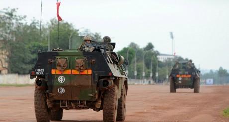 Patrouille de soldats français, Bangui, 6 décembre 2013 / AFP