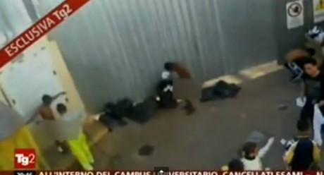 Capture d'écran Youtube du reportage diffusé sur TG2