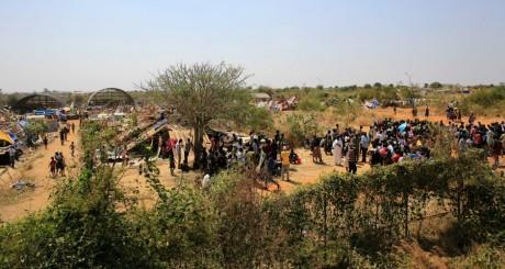 Un camp de déplacés à Jabel, Soudan du Sud, 23 décembre / Reuters