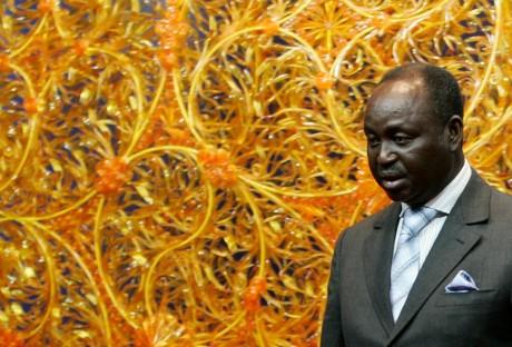 L'ex-président de la République centrafricaine François Bozizé. REUTERS / Francois Lenoir