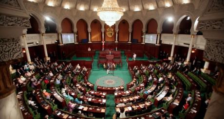 Une vue de l'Assemblée constituante tunisienne. REUTERS/Zoubeir Souissi