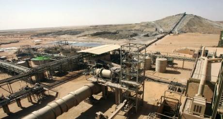 Une vue de la mine d'uranium d'Arlit, Niger / AFP