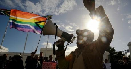 Manifestation LGBT en Afrique du Sud / AFP
