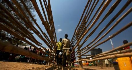 Cmp de réfugiés sud-soudanais à Kampala (Ouganda) / Reuters