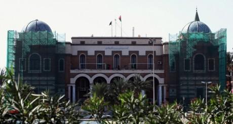 La Banque centrale de Libye, à Tripoli, 2011. REUTERS/Ismail Zitouni