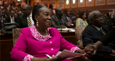 Catherine Samba-Panza, présidente de transion de la Centrafrique / REUTERS