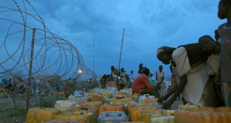 Déplacés sud-soudanais / REUTERS