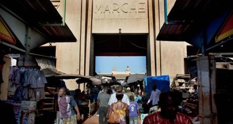 L'entrée du marché de bobo-Dioulasso / REUTERS